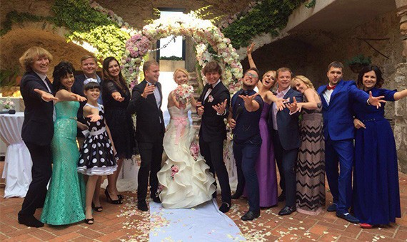 Свадьба в Испании, Евгения и Натальи!  8 июня 2016 года